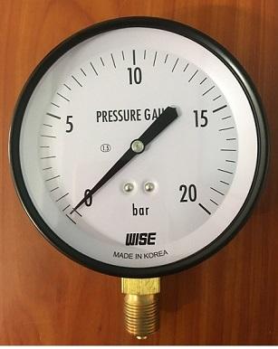 Đơn vị đo áp suất ( Bar )
