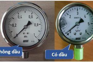 Dầu trong đồng hồ áp suất là gì?