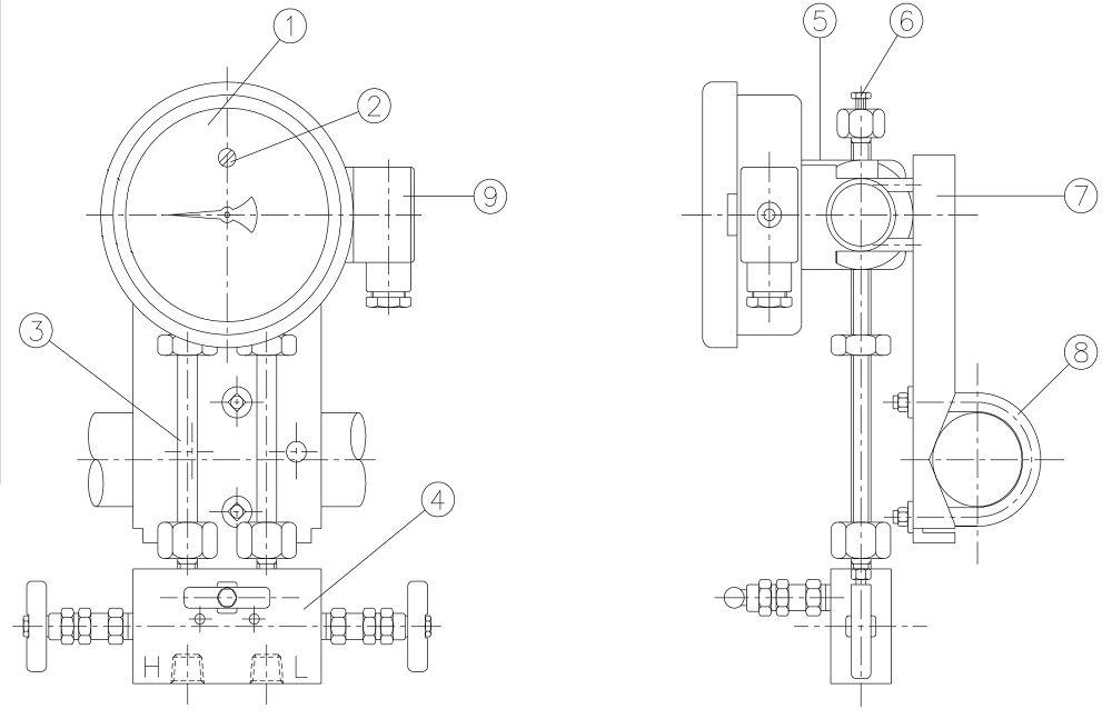 cấu tạo đồng hồ P650