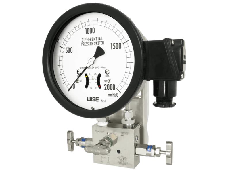 đồng hồ áp suất P650