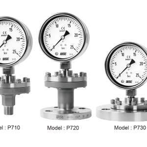 Đồng hồ áp suất màng P710 - 20 - 30 - 1
