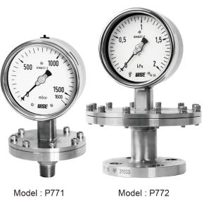 Đồng hồ áp suất P770 1