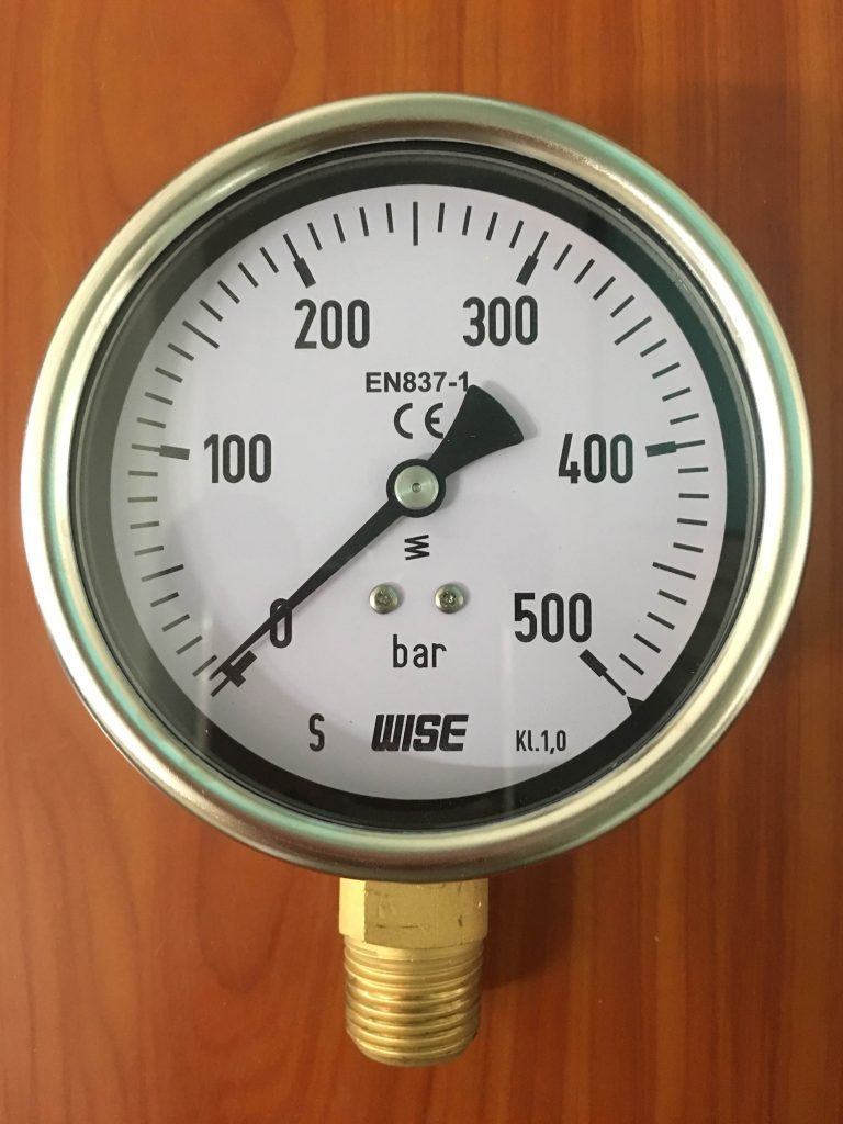 Giới thiệu Đồng hồ đo áp suất thủy lực Wise - Hàn Quốc